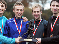 November 2011: Stockport triumph at English Cross Relays.