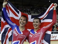 Great Britain set second set world record in women's pursuit