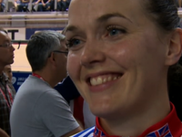 Track Worlds: Victoria Pendleton wins sprint gold despite crash