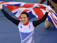 Victoria Pendleton wins Gold in keirin