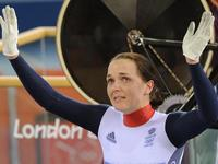 Victoria wins silver in her bow out of cycling